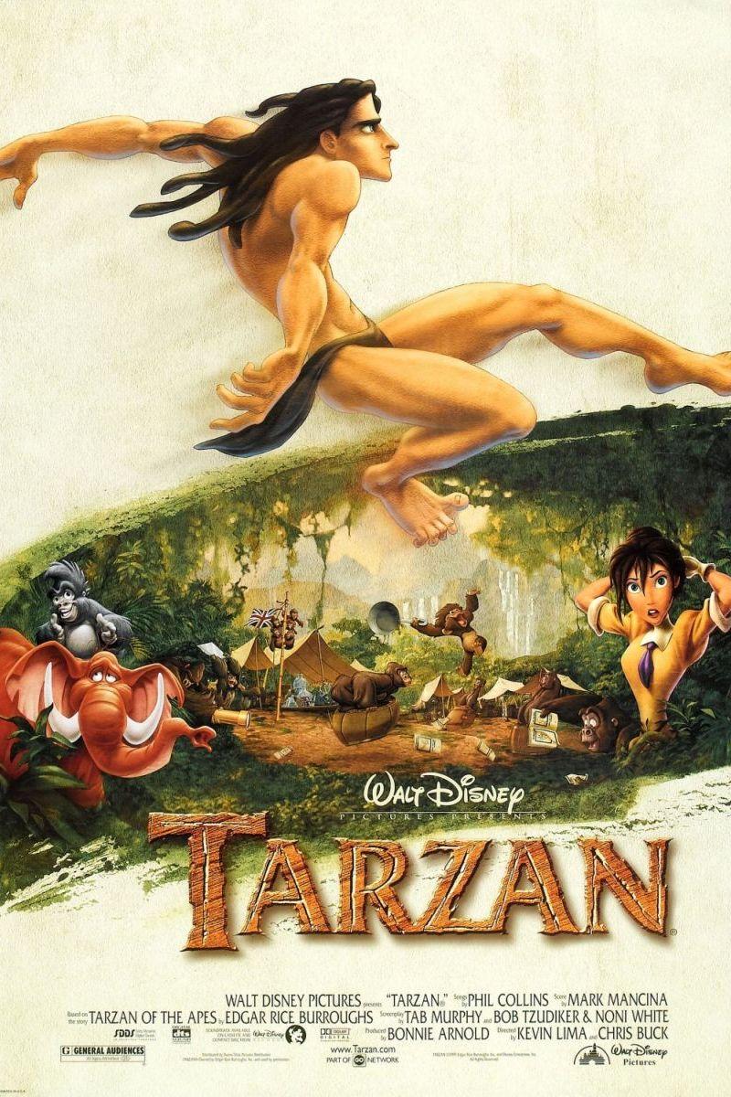 Walt Disney's Tarzan Poster