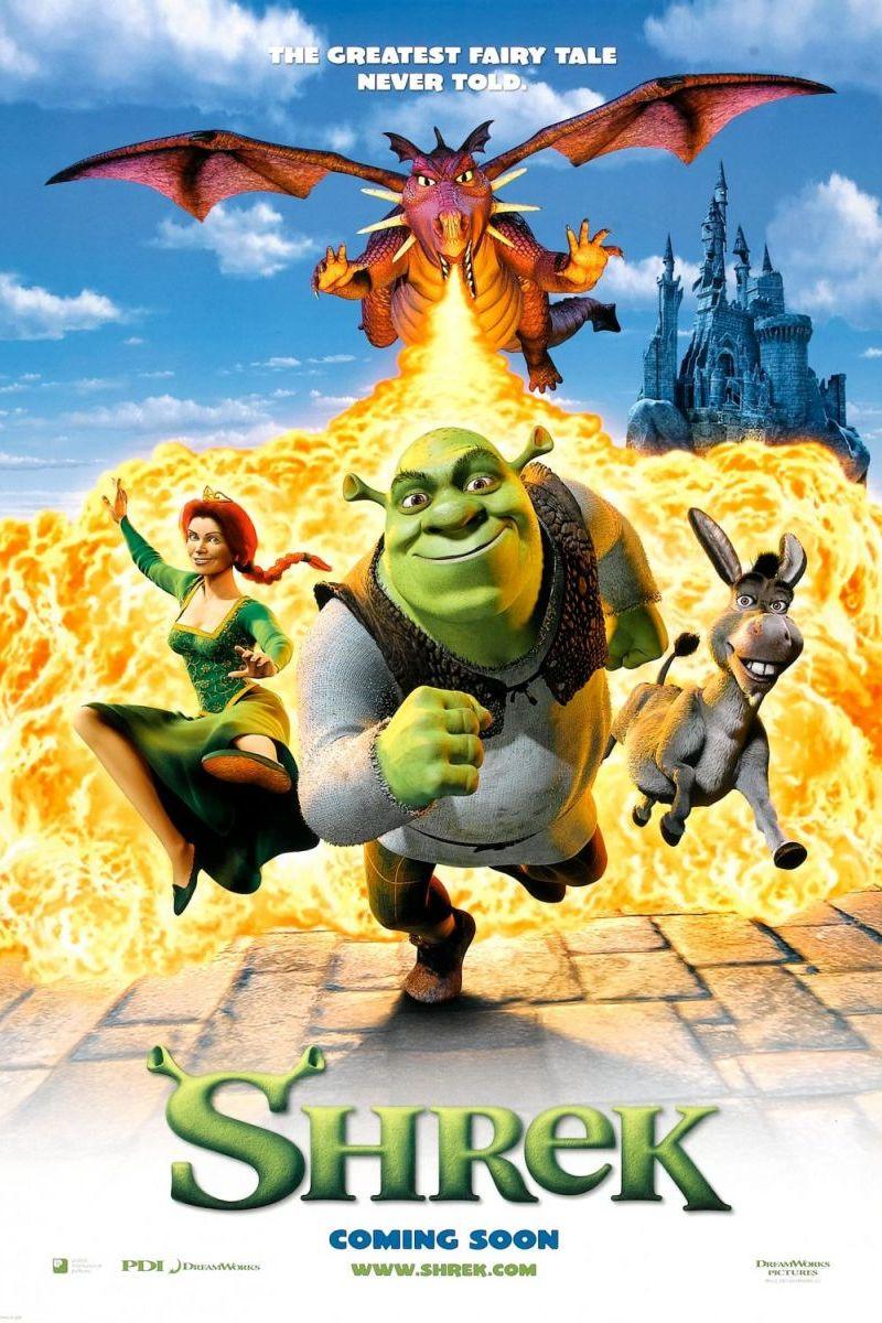 Shrek 1 Poster