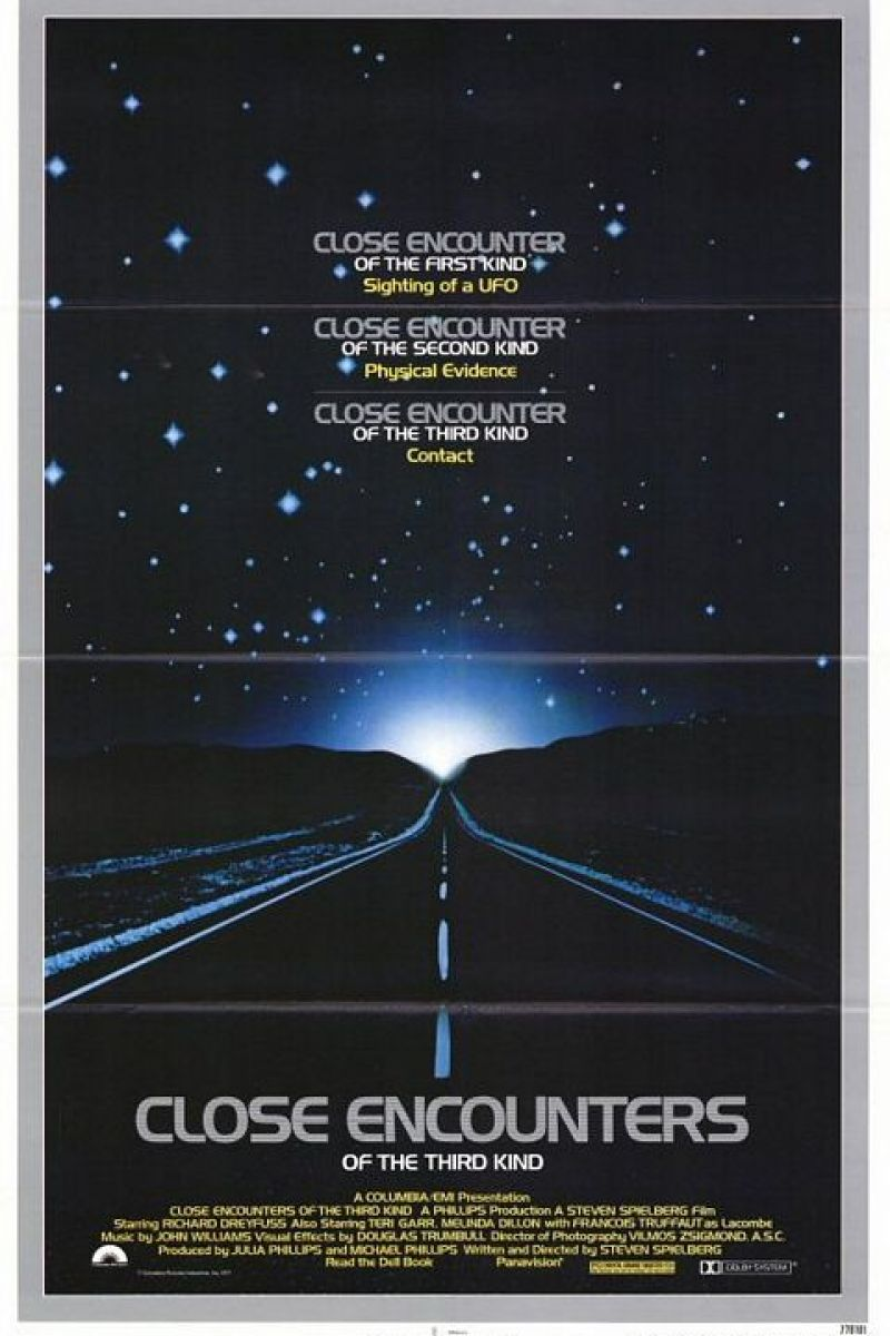 Close Encounters of the Third Kind (Director's Cut) Poster