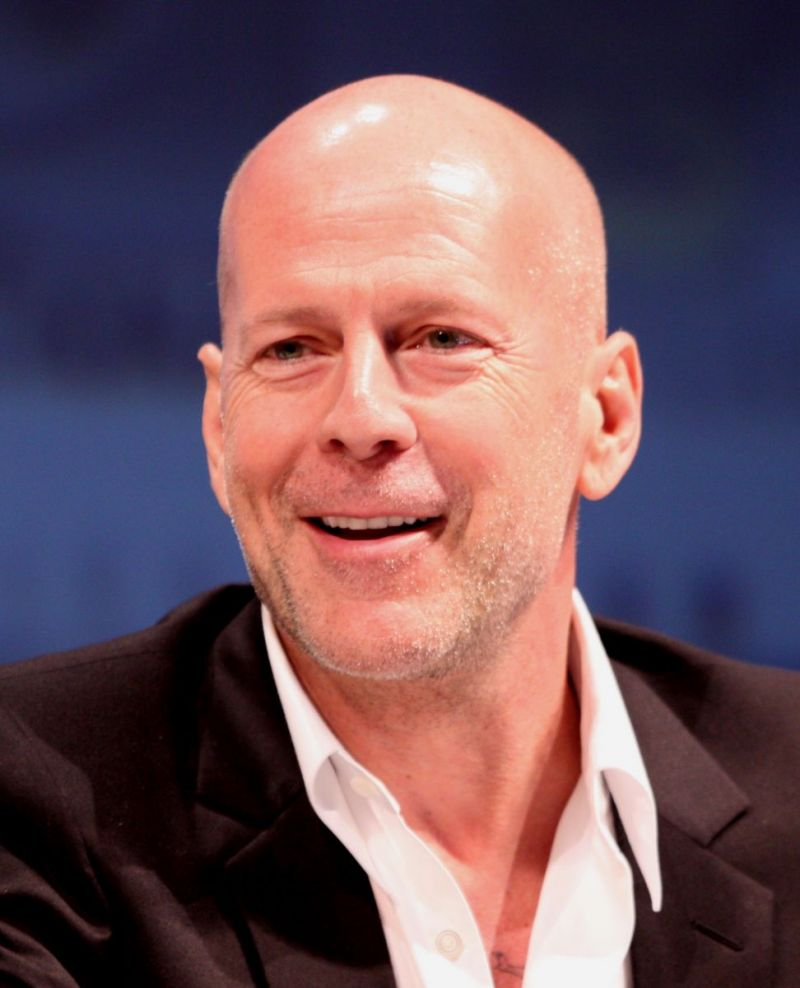 Bruce Willis. Image by Gage Skidmore.