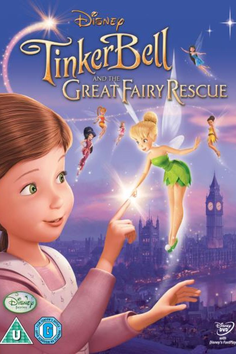 Tinker Bell 3: The Great Fairy Rescue Poster