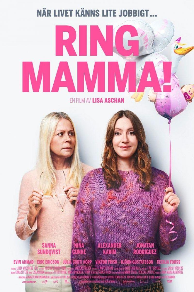 Ring mamma! Poster