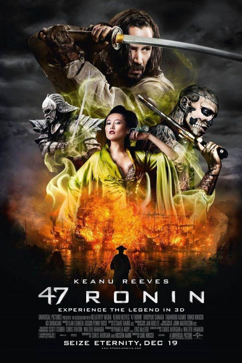 47 Ronin 3D Poster