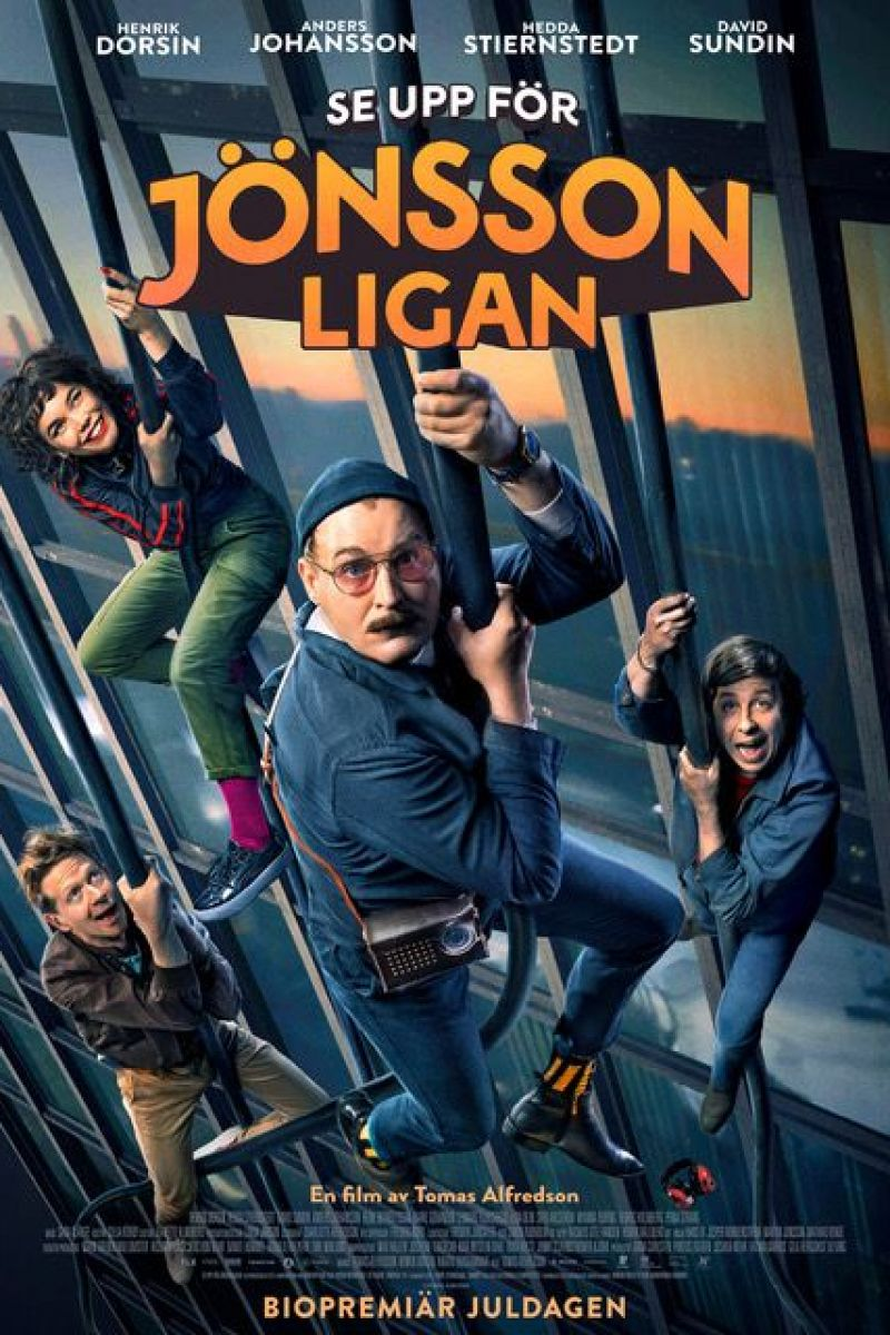 Watch Out For The Jönsson Gang Poster