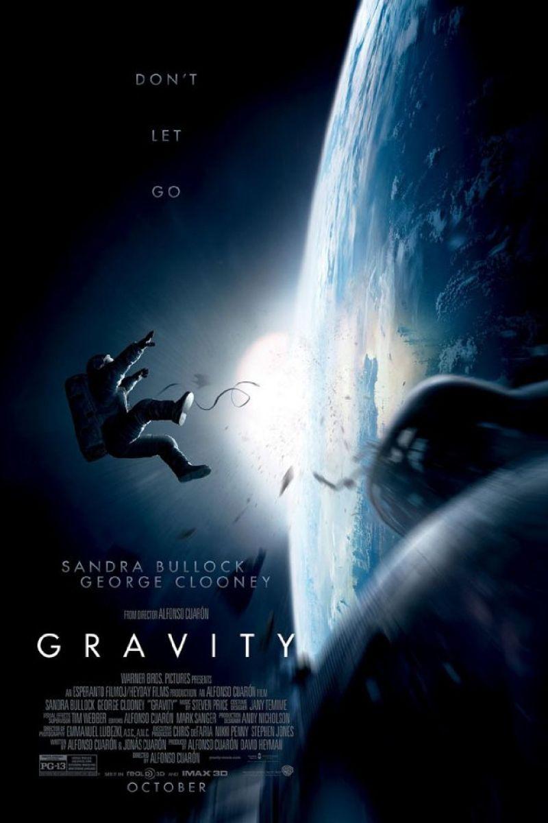 Gravity 3D Poster