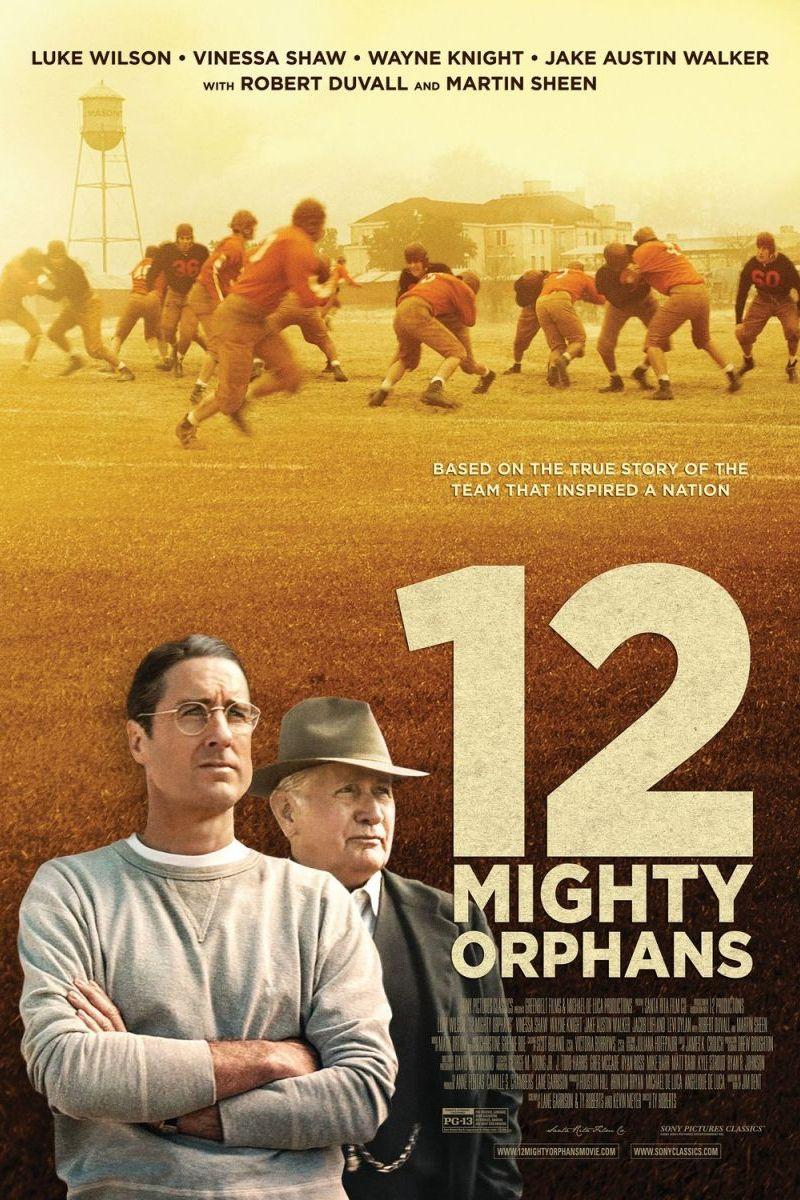 Twelve Mighty Orphans Poster